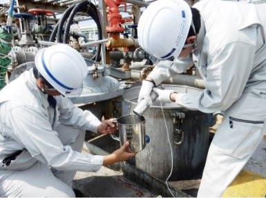 陸上油槽及び各種タンカー船等の容積表の作成